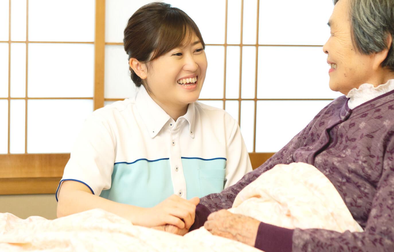 「「もしも」の不安を少しでも軽く。」大同訪問看護ステーション|訪問看護、訪問リハビリ